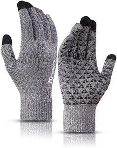 TRENDOUX Winter Gloves Review Grey Color