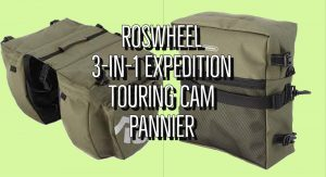 Roswheel 3-In-1 Expedition Touring Cam Pannier Review