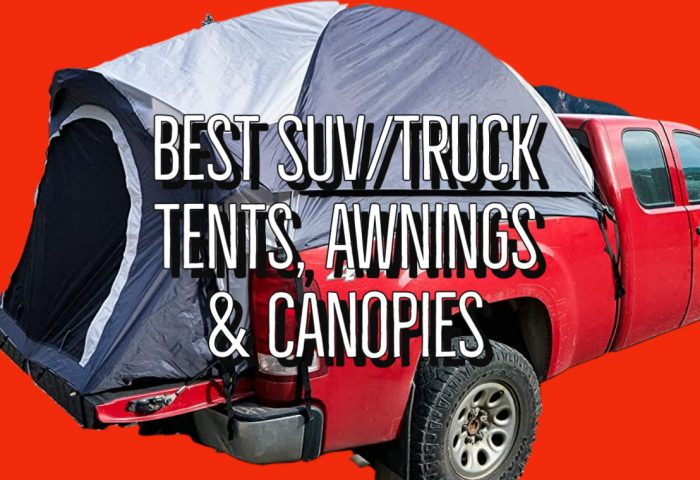 Best SUV Tents Guide - Truck Bed Tents